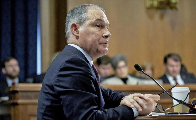 The EPA Polluter, Scott Pruitt, Was (and is) Anti-EPA